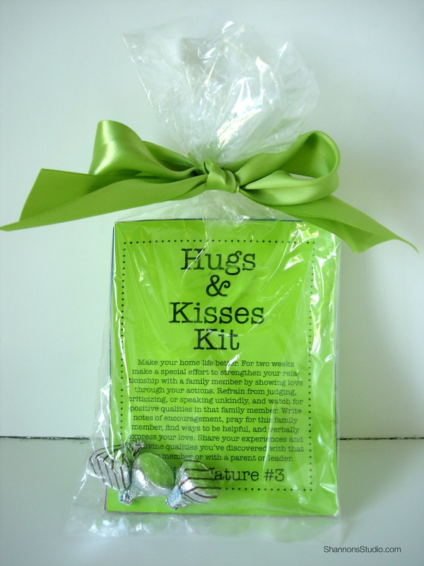 Hugs & Kisses Kit • Shannon Christensen • Young Women Personal Progress Divine Nature #3