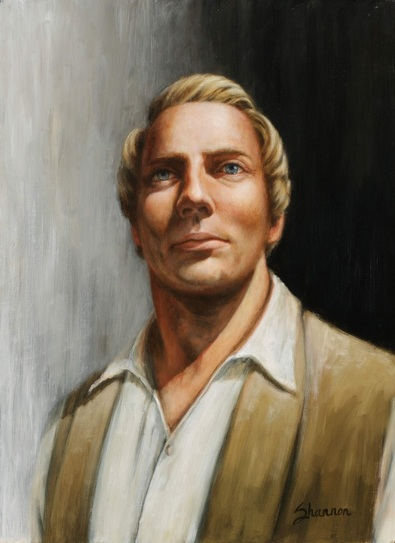 shannon christensen Praise to His Memory painting Joseph Smith