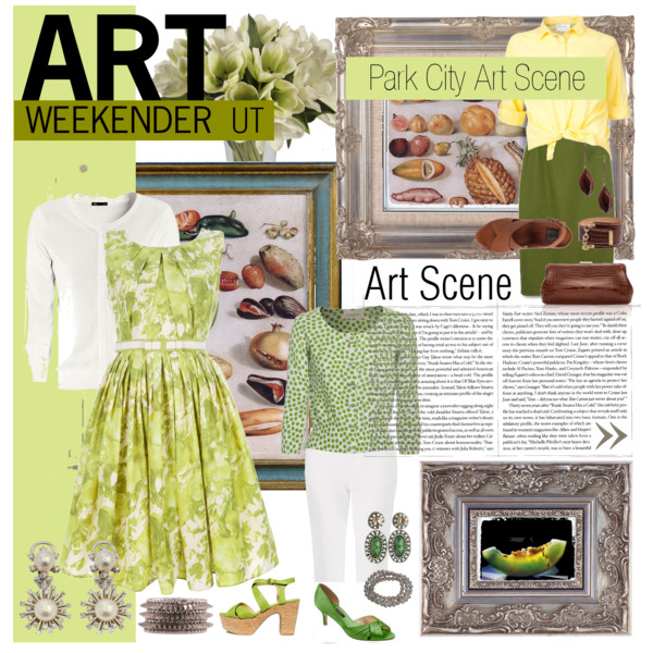 Polyvore spread • Art Weekender • Clothes for the Park City art scene • Shannon Christensen