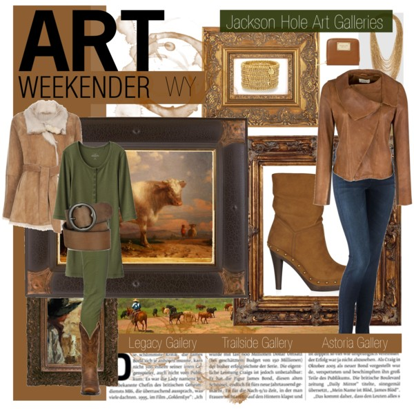 Polyvore spread • Art Weekender • Clothes for your Art Gallery visits • Shannon Christensen