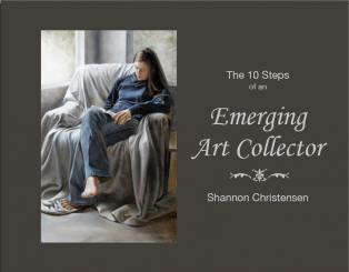 eBook cover 10 steps of an emerging art collector
