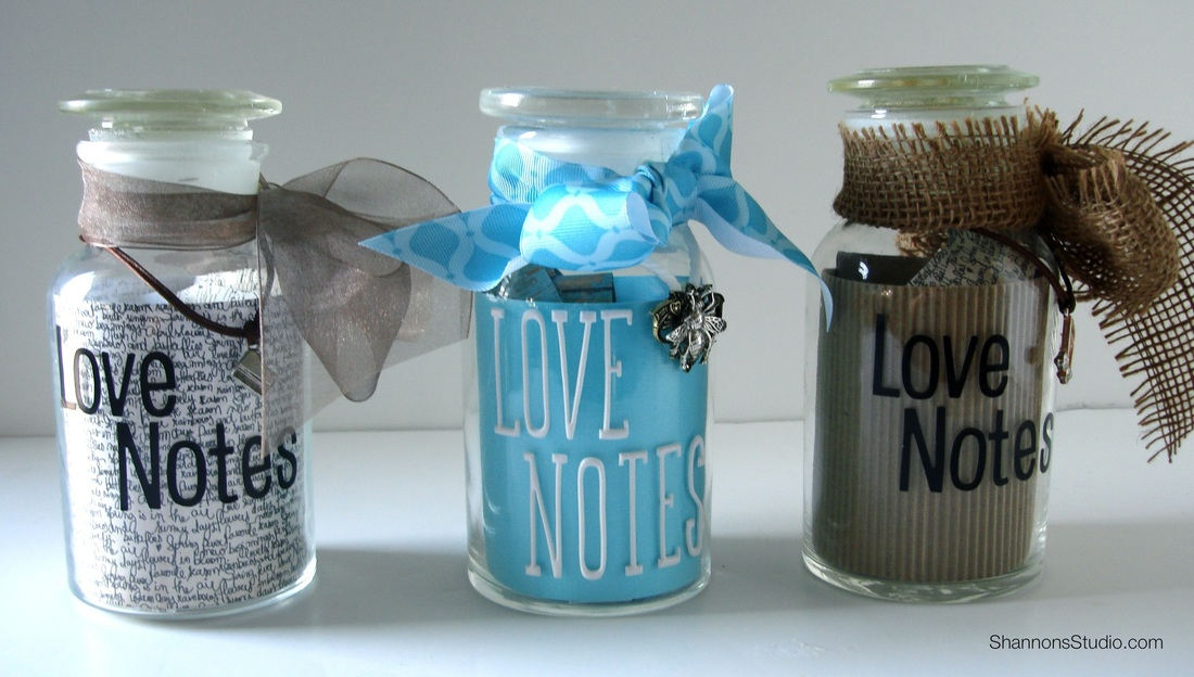 Diy Thank You Gift Love Notes