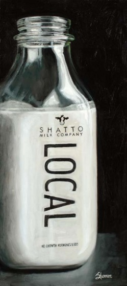 Shatto Milk Bottle, Local