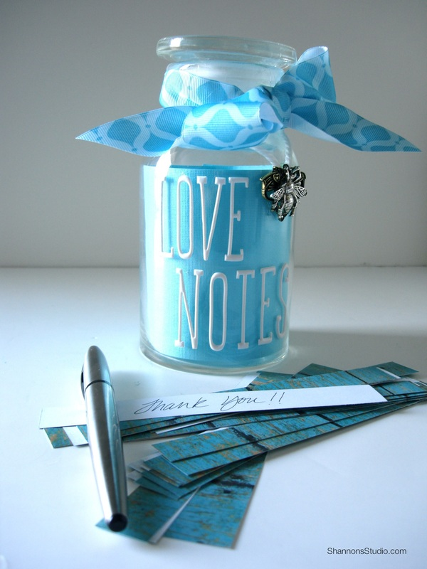 Cultural Celebration Thank You Love Notes Gift Jars