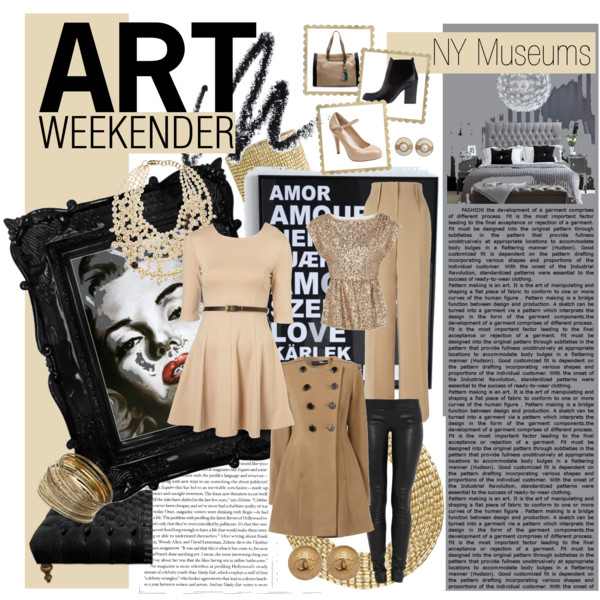 Polyvore spread • Art Weekender • Clothes for your New York Museum visits • Shannon Christensen