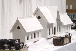 DIY Wedding Birdhouse Triptych ShannonsStudio.com