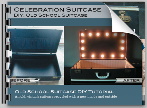 Celebration Suitcase Old School @ ShannonsStudio.com
