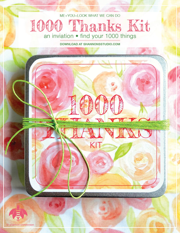 1000 Thanks Kit © Shannon's Studio Company