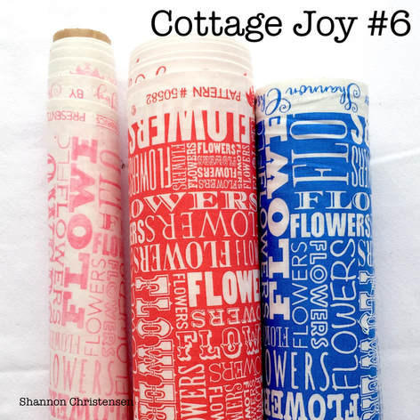 Shannon Christensen Fabric Collection Cottage Joy Naming Game
