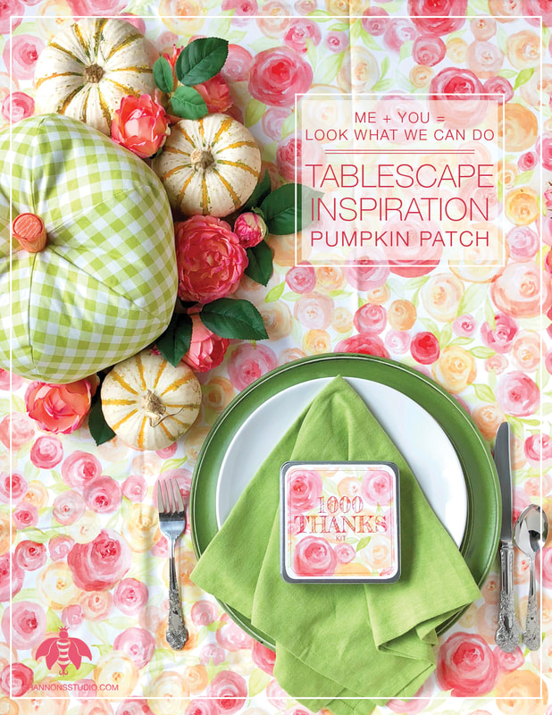 Shannon's Studio Company Tablescape Templates™ Pumpkin Patch Photo