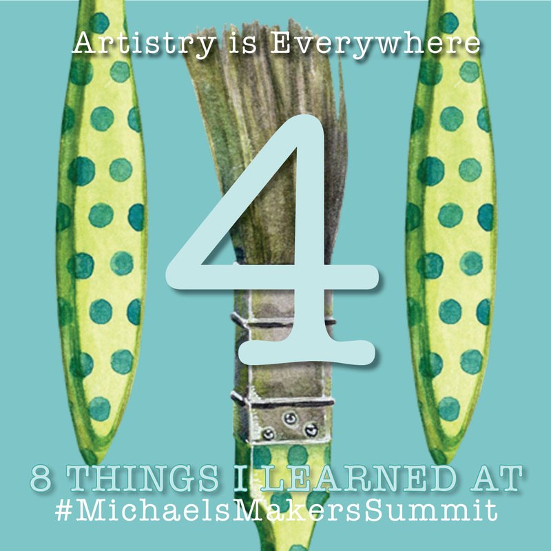Shannon Christensen What I Learned from Michaels Makers Summit #4